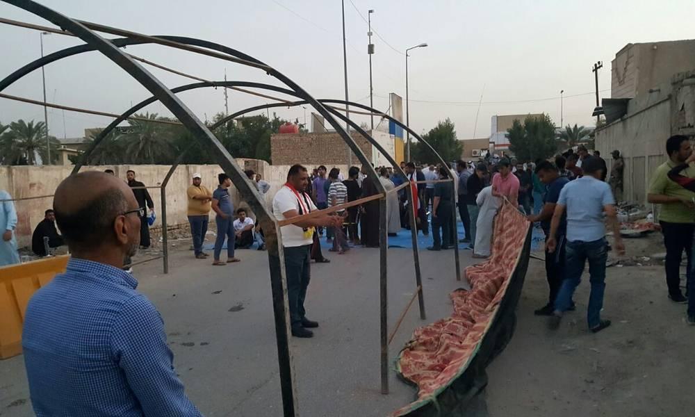 """البصرة: إعتقال الناشط """"غسان سعيد"""" أحد منظمي الاعتصامات"""