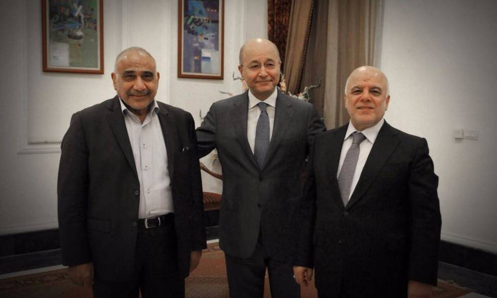 Barham Salih proposes this post to Haider al-Abbadi and the latter responds ..