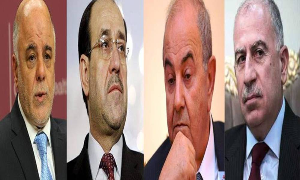 Exclusion of Maliki and Abadi - Allawi and Nujaifi .. After absent continues