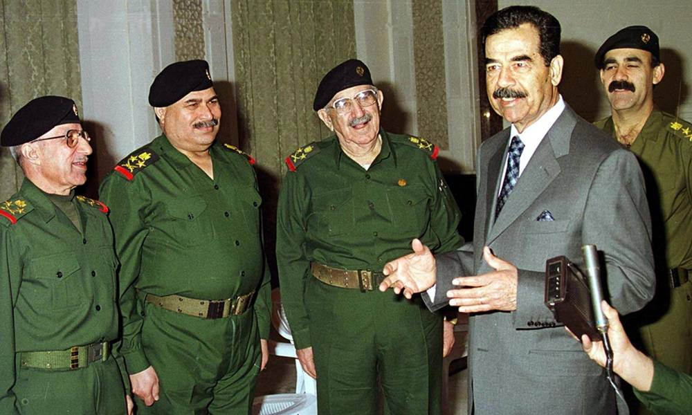 """""""رغد صدام حسين"""" تنشر رسالة خطية لأبيها تتضمن أوامر بـــ حق """"وزير ايراني"""" ..!"""