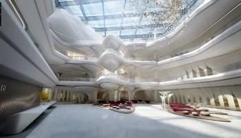 بالصور: فندق من تصميم الراحلة زها حديد في دبي قريبا