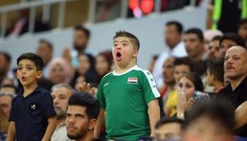 بعد ان خطف الانظار في الملعب.. الطفل حسين سيحرك كرة بداية مباراة النهائي بين العراق والبحرين اليوم