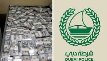 بعد تداوله على صفحات التواصل الاجتماعي.. شرطة دبي تصدر توضيحاً حول فيديو الدولارات وعائديتها