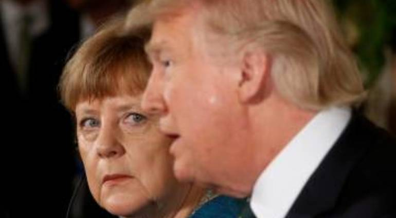 Trump shocked Merkel and why