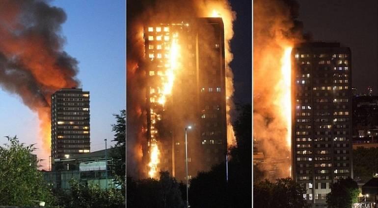 نتيجة بحث الصور عن حريق برج غرينفيل