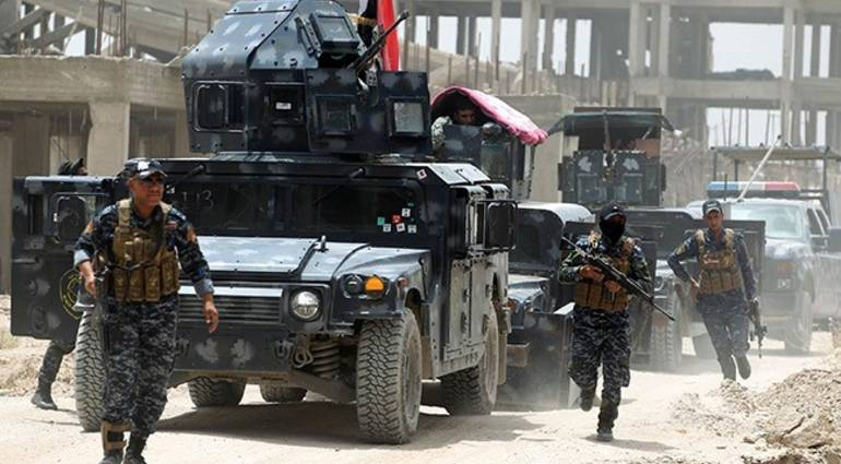 Federal Police continues to advance in the old area last strongholds in Mosul Daesh
