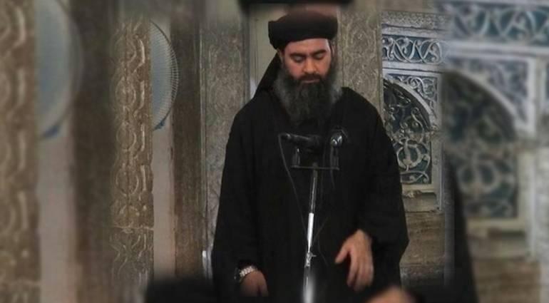 Daesh announces the death of al-Baghdadi the Koranic verse