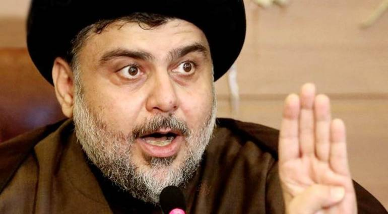 In the document .. Sadr sends a message to Iran