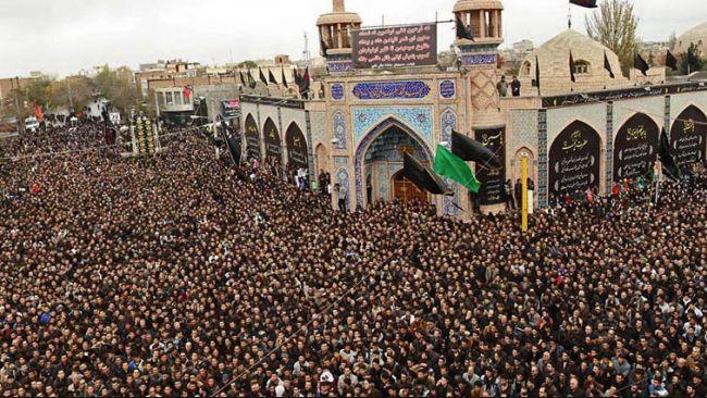 نتيجة بحث الصور عن الإيرانيون يحجون في كربلاء