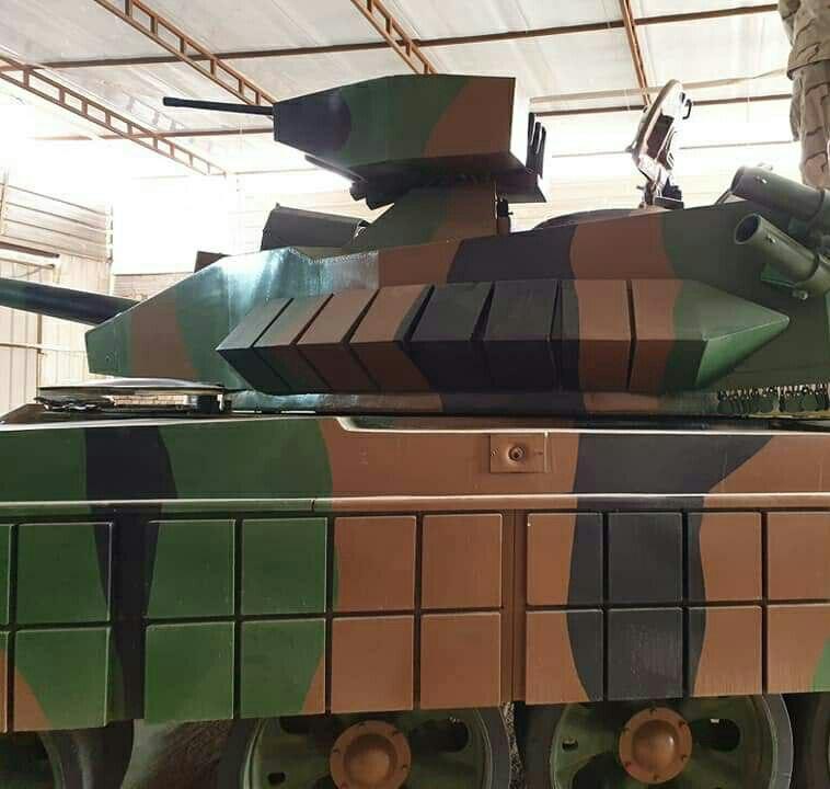 العراق يكشف لاول مرة عن مشروع الدبابة الوطنية( كفيل-1 )الصمم وسينفذ داخل العراق وبخبرات وطنيه 20190612_053642-95