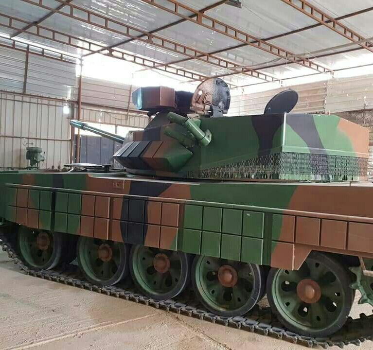 العراق يكشف لاول مرة عن مشروع الدبابة الوطنية( كفيل-1 )الصمم وسينفذ داخل العراق وبخبرات وطنيه 20190612_053643-435