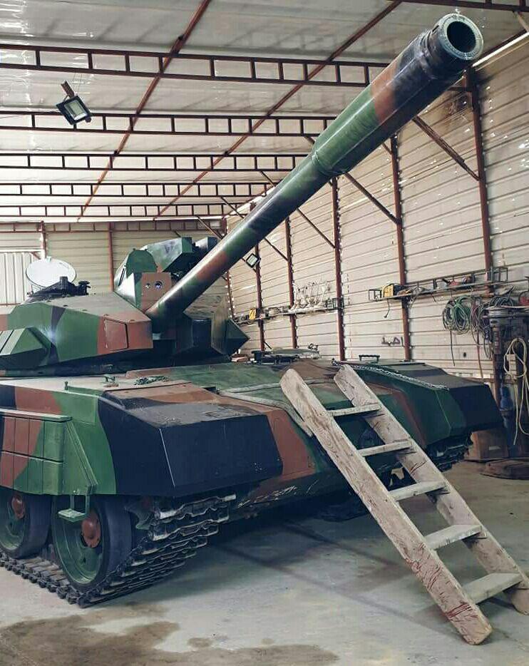 العراق يكشف لاول مرة عن مشروع الدبابة الوطنية( كفيل-1 )الصمم وسينفذ داخل العراق وبخبرات وطنيه 20190612_053645-183