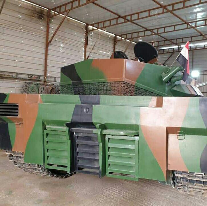 العراق يكشف لاول مرة عن مشروع الدبابة الوطنية( كفيل-1 )الصمم وسينفذ داخل العراق وبخبرات وطنيه 20190612_053645-879