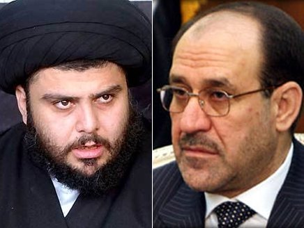 Sadr accused Malikis government of land and delivery of arms for the enemy - sell