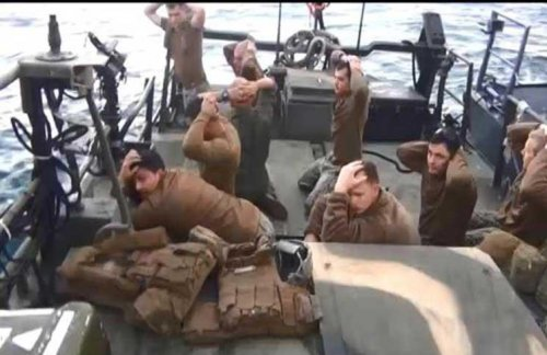 Tehran - we extracted important information from computers of American sailors