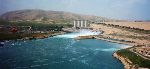 The collapse of the Mosul Dam disaster superiority of Hurricane Katrina - a thousand times