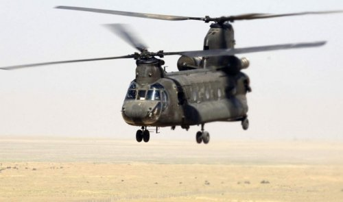 Sources reveal an American helicopter landing Fallujah leaders to move Doaash to unknown locations