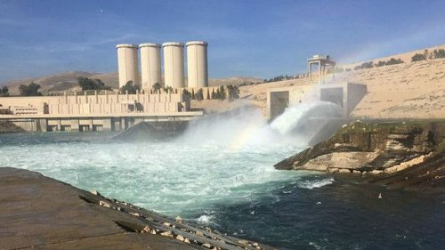 After withdrawing its troops - America put sensitive devices in the Mosul Dam and Stahedh whenever you want