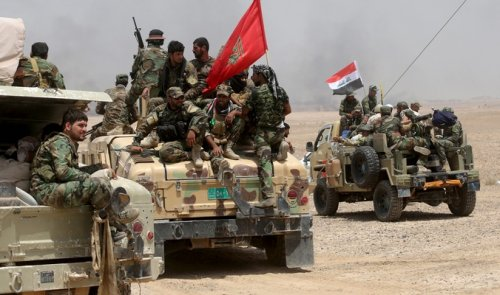 After offering the security forces - Daash withdraw abruptly west of Fallujah