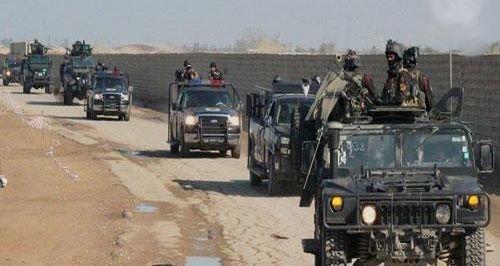 مكافحة الارهاب يحرر ناحية برطلة شرقي الموصل
