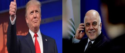 News of al-Abadi received an official invitation to attend the inauguration ceremony of president of the Trump America