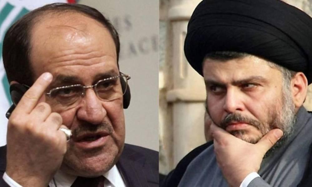 Sadr office vows Nuri al - Maliki and Jamal Karbouli .. For this reason