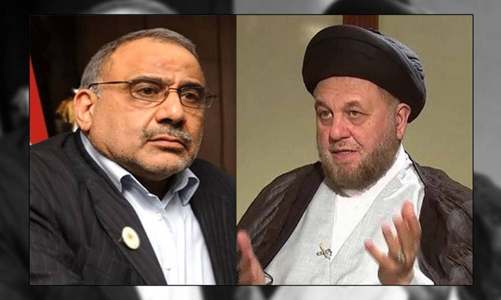 Leaders in the call mediate Abdul Mahdi to Thabet Alaq in the Central