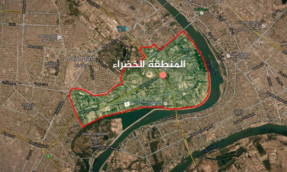 Source - For this reason the government postponed the opening of the Green Zone