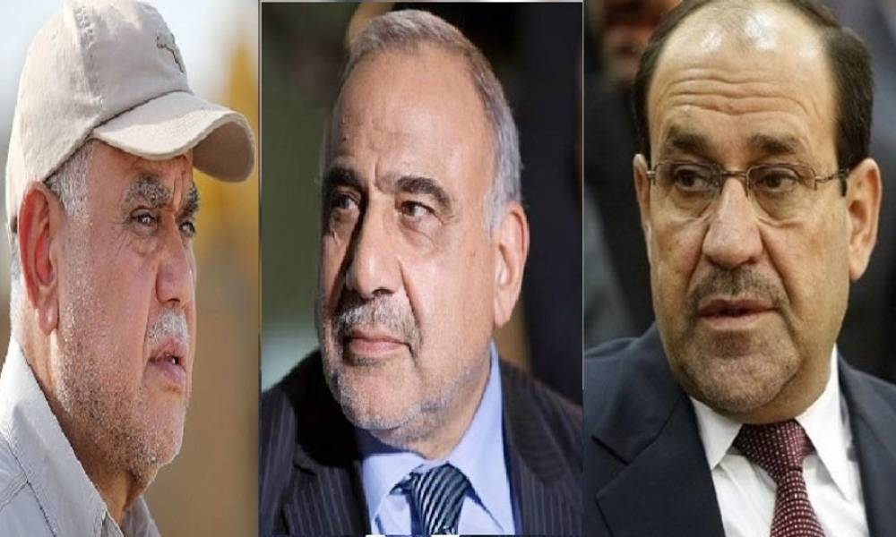Abdul Mahdi lies Maliki and al - Amiri .. and disown of the nomination of Fayadh