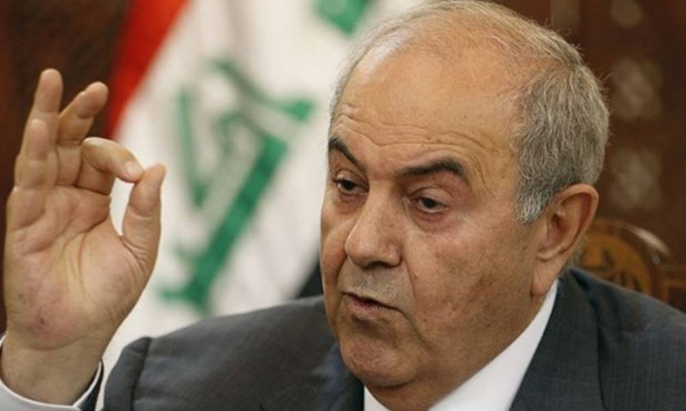 48 hours after the launch .. Allawi promotes to his new party and sends a message threat to the Kurdistan region