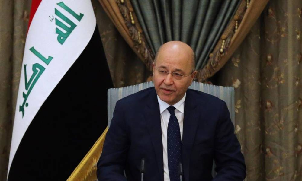 The most important statement in the speech of the President of the Republic Barham Saleh on the demonstrations taking place in the country