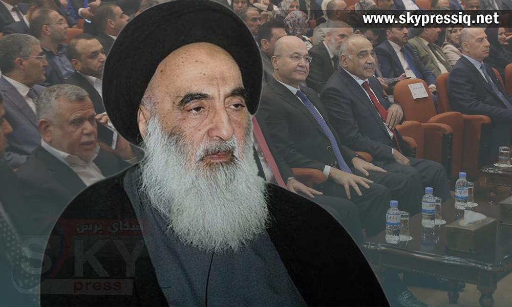 The decline of the health of Sistani - After strong resentment of the parties and the current political class