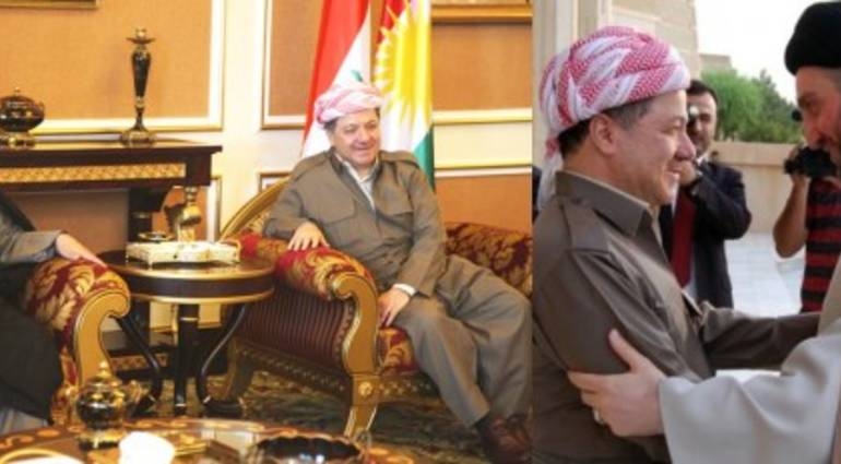A secret meeting between the Kurdish and Shiite parties to undermine al-Maliki