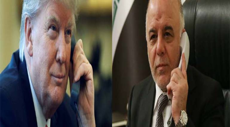 Abadi - Trump is listening well .. Obama has not kept promises of support for Iraq
