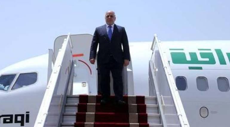 Abadi arrives in Baghdad from Washington