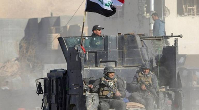 Security forces liberated neighborhood July 30 in Mosul Ayman