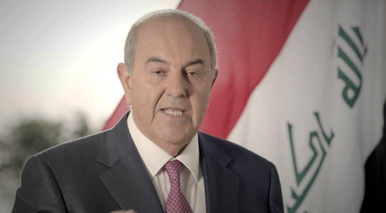 Allawi - The time is not suitable for the independence of Kurdistan