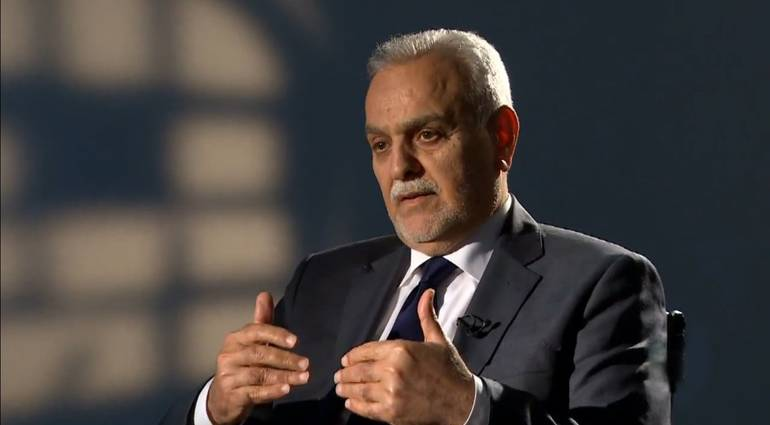 Hashemi - the task is not complete expulsion Daesh but with accounting partner which enabled Nuri al-Maliki