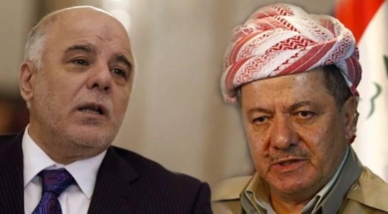 Barzani threatens Abadi with bullets