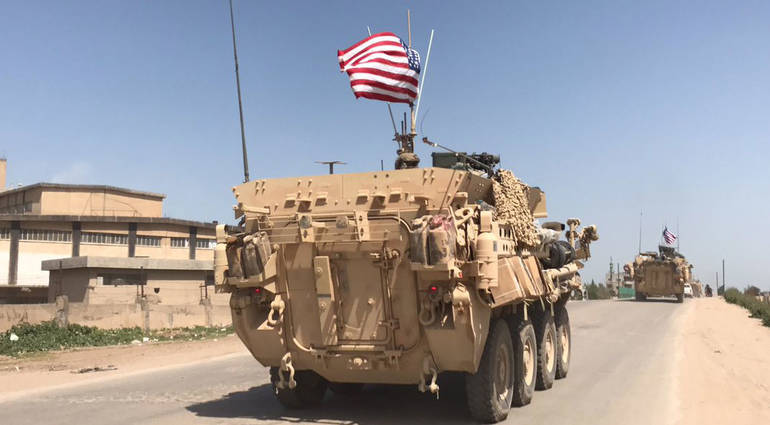What motivated the establishment of a US military base near Tal Afar