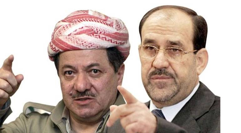 Again - Barzani attacks Maliki - destroyed the relationship between Baghdad and Erbil