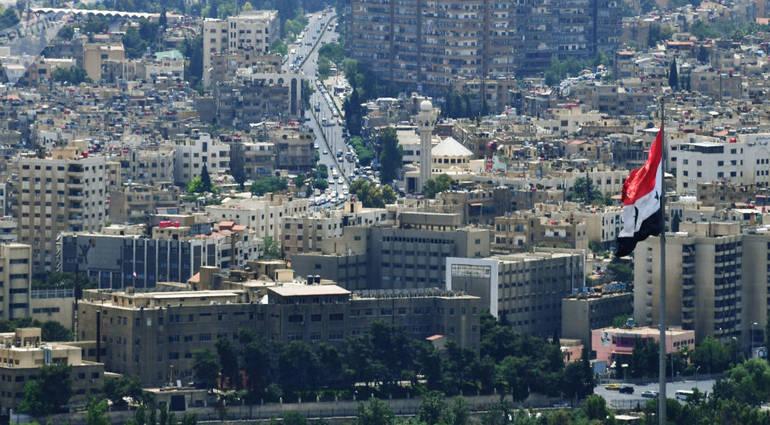Newspaper - Israeli threat to bomb the Assad Palace