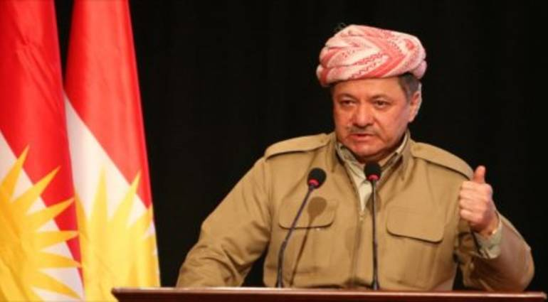 Barzani threatens - We will face strongly all those who think of taking Kirkuk from us