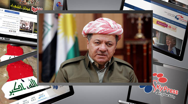 News of Barzanis resignation from the presidency of the Kurdistan region