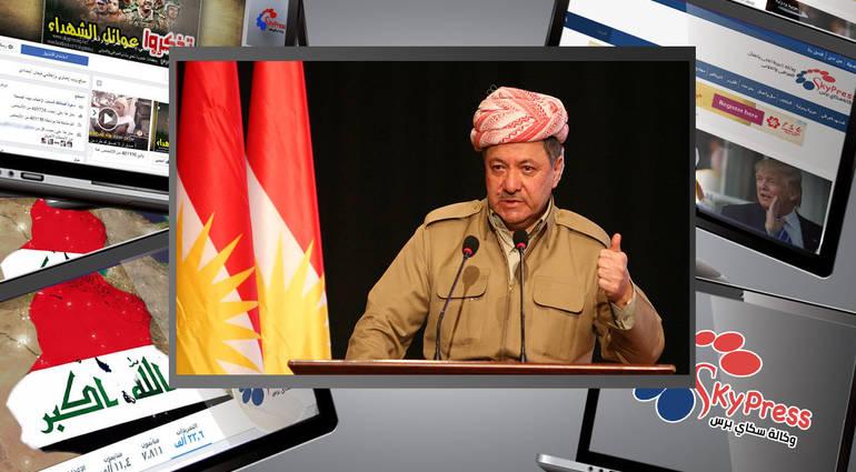 Barzani: the takeover of Kirkuk plan Iranian with the knowledge of Washington