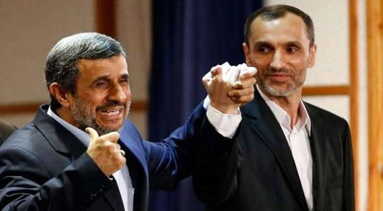 On charges of corruption ... Vice-President Ahmadinejad 15 years