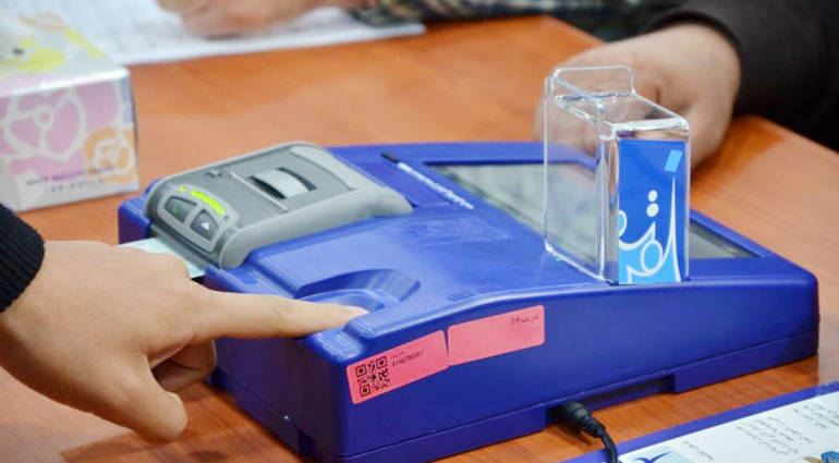 UNHCR distributes electronic voting machines to polling stations in all of Iraq