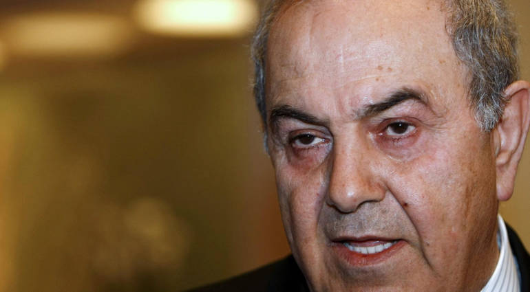 Iyad Allawi .. I am threatened with death and I will withdraw from the political process and fight it peacefully
