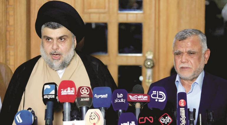 Experts - The US administration is facing a dilemma in dealing with an Iraqi government controlled by Sadr and Amiri