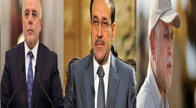 A tripartite document between victory and conquest and the rule of law to return al-Maliki as the most prominent candidate for prime minister